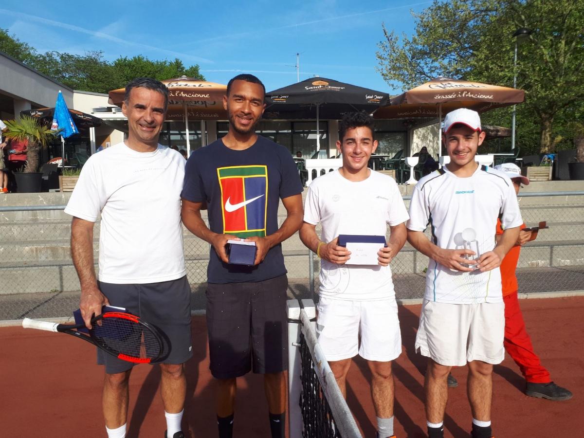 Les quatre finalistes du tournoi
